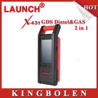 Original Launch X431 GDS Diesel&Gasoline 2 in 1 Car /Truck Diagnostic Tool X-431 GDS Heavy Duty Internet Update+Multi-Language