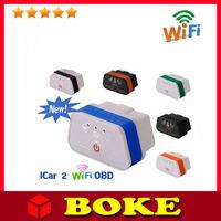 2014 Fast Shipping Original! Vgate WIFI OBD2 Scanner Diagnostic Auto Tool ,elm327 icar 2 quality +++