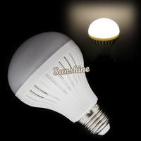 High brightness LED Bulb Lamp E27 27 SMD5050 220V/9W LED Light Warm White Led Spotlight 15485