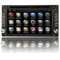 Free Shipping + 2 Din Two Android 4.2.2 In Dash Car DVD Player GPS +WIFI+BT+Radio+DDR3+Capacitive Touch Screen+3G+Stereo+Audio