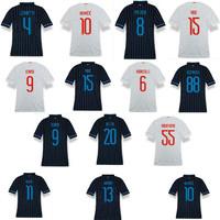 Top Thailand Quality A +++ 2015 football jersey KOVRCIC VIDIC BOTTA J.ZANETTI 14 15 jersey embroidery patterns