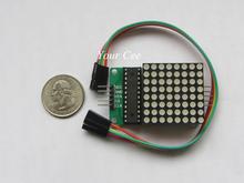 5 pcs MAX7219 Dot LED Matrix Display Module SCM Control Module DIY Electronic Kit For Arduino(China (Mainland))