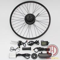 36v 500w 350w  250w geared brushless hub motor ebike conversion kits