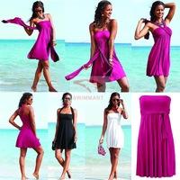 Swimwears 2014 Summer Novelty Bikini Dress European Style Women's Dress Women Beach Cover up Magic Wrapped Chest Beach dress
