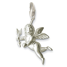 Cupid ,  Charms   for  bracelet  2pc/lot  ,free  shipping