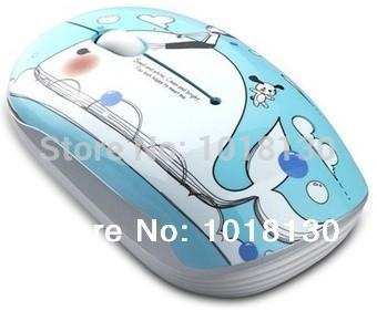 Original New Newmen Nightingale Shangpin (Little Whale) MS-278IR Fashion Cute Wireless Mouse Free Shipping(China (Mainland))