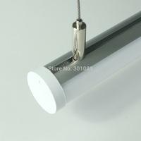 10m (10pcs) a lot, 1m per piece, Aluminum led profile for led strips light, aluminum led strip light housing