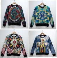 High quality 3D Print Hoodies 3D Sweatshirts Men Sweater