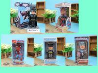 Free Shipping FUNKO DC Universe Batman Dark Knight  Rises Spiderman Wacky Wobbler Bobble-Head PVC Action Figure Collection Toy