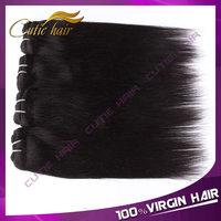 Queen Hair Products Brazilian Virgin Hair Straight 4pcs/lot  Free Shipping Virgin Brazilian Straight Hair Human Hair Extensions
