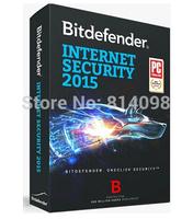 BitDefender Internet Security 2015 2014 1year 3pcs