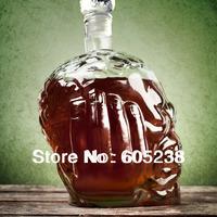 650ml big  Size Zombie Head Decanter / Zombie Wine Bottle Hip Flasks (Skull Bottle Mug Glass  Doomed )