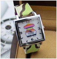 Women Watches Vintage Brand 2014 New Fashion Watch Rectangle Wristwatch Ceramic Reloj Mujer Ladies Quartz watch Promotion