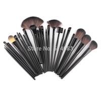 Professional 24 Makeup Brushes Set tools Make-up Toiletry Kit Wool Brand Makeup Brush Set Case Brand Brushes Makeup Soft Brush