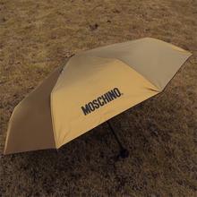 Moschino super sun protection vinyl sun umbrella anti-uv umbrella , women's umbrella ,Umbrella men free shipping(China (Mainland))