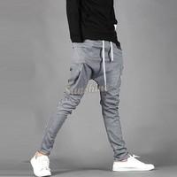 2014 Hot Sale Spring and Autumn Men's Casual Pants Loose Sports Trousers Casual Sports Pants Men's Skinny Sweatpants 16719