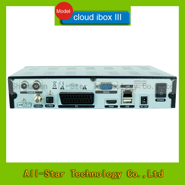 2014 Hot Sale Cloud ibox 3 Mini Vu+Solo DVB-S2 OpenPLi IPTV+Enigma 2 + Linux s Satellite TV Receiver (Cloud I box iii)(China (Mainland))