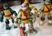 2014 NEW Hot 1 pcs Top Quality Teenage Mutant Ninja Turtles 88 Classic Anime Action Figure 4.7inch Toys