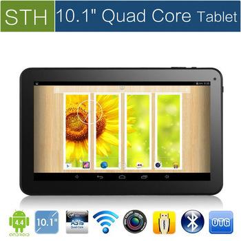 """Новый 10.1 """" Android 4.4 четырехъядерных процессоров планшет шт, Allwinner A31s QuadCore планшет с Bluetooth и емкостный сенсорный ( 8 ГБ / gb. 32 ГБ )"""