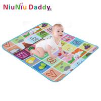 Baby Play Mat 1*0.9 Meter Fruit Millionaire Game Child Beach Mat Picnic Carpet Baby Crawling Mat,Baby gift Free shipping