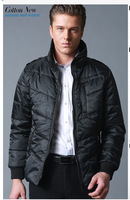 Fashion Wadded men's jackets cotton-padded jacket outdoor men clothing  jacket for man free shipping