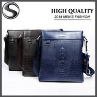 Retail 2014 Hot Sell New Style Shoulder Bag pu Leather Men Bags Famous Design Men Messenger Bag For Men Crossbody Bag MSB1035