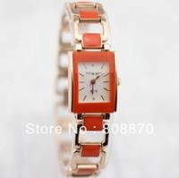 King Girl Bracelet Watch Rose Gold Hours Women Dress Watches Rectangle Quartz watches New 2014 Analog