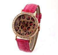 Women Dress Watches Leopard Luxury Desinger women Rhinestone Watch Analog Brand Wristwatches Ladies Quartz watch for woman Sale