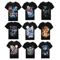 Free shipping New Mens T Shirt Men's Short Sleeve Slim Fit 3D T Shirt For Men 2014 M-XXXL 15 Colors