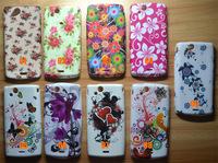 Flower Butterfly Jellyfish Tortoise Star Soft Skin Case For Sony Ericsson Xperia Arc S X12 LT15i LT18i free shipping
