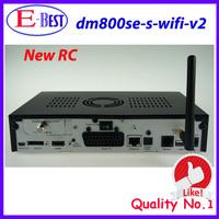 Newest!!! dm800se v2 wifi dm 800 hd se Wifi 1GB Flash 512MB RAM Sim2.20 DM 800hd se Wifi 400Mhz Processor fedex Free Shipping