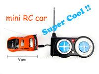 Free Shipping 2014 new mini RC Racing Car 5CH 1:52 Radio Car Remote Control mini Race RC Electric Drift Car Racer 50