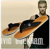 New 2014 Summer Men Casual Flat Sandals,Bakham Leisure Soft Flip Flops,EVA Massage Beach Slipper Shoes For Men Big Size 40-44