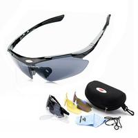Fashion Style Cycling Bicycle Bike Outdoor Sports Sun Glasses Eyewear Goggle Sunglasses Men Women 3 colors lenses  Sunglass
