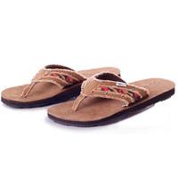 Free Delivery Genuine Leather New Men's Sandals Men Flip Flops Men's Slip-resistant Slippers Casual Summer Shoes Beach Sandals