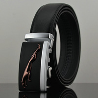 Men's Belts Genuine Leather Leopard Belt Cintos Men 100% Genuine Leather Strap Designer Belts for Man Plus Size  pk213-T0