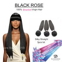 On sale 6A grade Brazilian virgin hair bundle deals,brazilian silky straight virgin hair human hair weave,brazilian natural hair