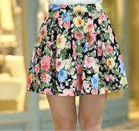 2014 women's pleated chiffon slim package hip skirt loose skirt short skirt female bust skirts