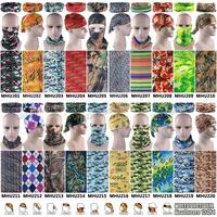 Free Shipping 1pc/lot  Various Camo Microfiber Fashion Outdoor Bandana Tubular Headwear Coif Multifunctional Seamless Wear