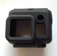 FREE SHIPPING Gopro Protective Silicone Case Camera Proection Silicon Housing box For Gopro Hero 3 5pcs/lot