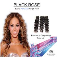 3 bundle deals raw stema hair weave sale rosa queen deep wave virgin hair extentions peruvian virgin hair deep body wave bundles