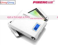 Original Pineng Power Bank 10000mAh PN-913 Dual USB LED Flashlight Universal Powerbank For Galaxy S5 S4 Note3 Iphone 5/White