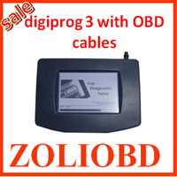 Top sale 2014 best quality newest digiprog 3 v4.88 Odometer tool digiprog iii mileage correction with OBD interface
