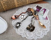 Fashion accessories vintage unwitting coffee spoon small coffee spoon tea ice cream scoop spoon set