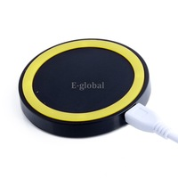 2014 New Arrival Qi Wireless Power pad Charger for iPhone Samsung Galaxy S3 S4 Note2 Nokia Nexus4 USB Port SV000611 008