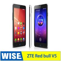 "Smart Phone ZTE V5 Red Bull 5.0"" HD 1280x720 1GB RAM 4GB MSM8926 Quad Core nubia UI 2.0 V5 GPS WCDMA 13.0MP Camera"