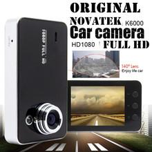"original Novatek k6000 Car Dvr 1920*1080P Full HD 2.7"" LCD G-Sensor Night Vision 140 Wide Angle Lens Car Camera Video Recorder(China (Mainland))"