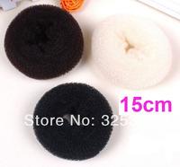 3PCS Super Large 15CM Hair Volumizing Scrunchie Donut Ring Style Bun Scrunchy Sock Poof Bump Large 5.9inch
