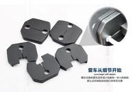 Car door lock protecting door lock decoration cover For FORD ECOSPORT  2013 2014 Anti-corrosive 5pcs per set