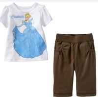 New 2014 Retail Hot Baby pajama girls boys Hello Kitty  pajamas pijama nightgown baby clothing kid pajama sets sleepwear P-10